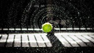テニス 雨の日