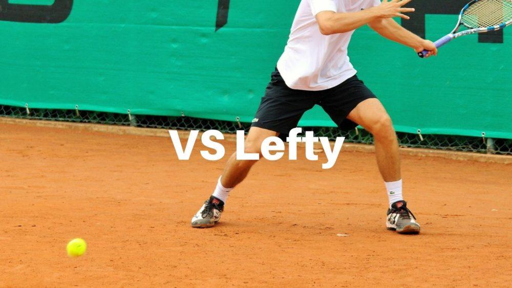 左利き テニス 対策